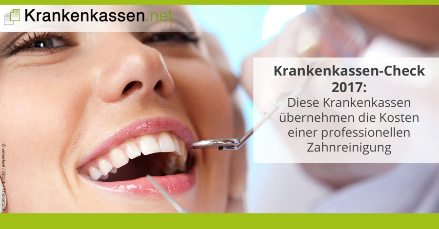 Kostenübernahme Professionelle Zahnreinigung